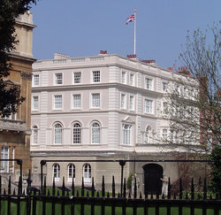 Clarence House, London home of the Duchess of Cornwall